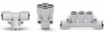 Raccordi super-rapidi Compact in tecnopolimero Serie 7000 Camozzi