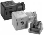 Connettori per elettrovalvole