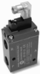 Elettrovalvole 3vie servocomandate a basso assorbimento Vuototecnica